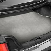For Bmw X1 13-15 Carpeted Light Gray Cargo Mat Bench Up