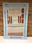 Microscale Decal Ho Scale 87-71 Southern Pacific Stripe Switchers Tiger H-4
