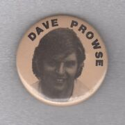Dave Prowse Pinback Star Wars Actor Physically Portrayed Darth Vader Button