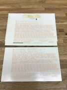 """The Coach Yard Ho Scale Southern Pacific Decals Set 1039 Dulux Gold Used """"b"""""""