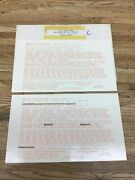 """The Coach Yard Ho Scale Southern Pacific Decals Set 1039 Dulux Gold Used """"c"""""""