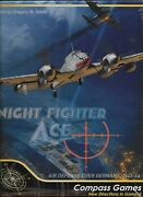 Night Fighter Ace - Air Defense Over Germany 1943-44 Compass Games Nightfighter
