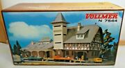 Vollmer 7544 N Raiffeisen Warehouse Kit With Instructions New Original Packaging