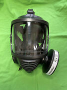 ✳️ Mira Cm-6m Gas Mask ❤️ Nato 40mm Cbrn ❤️ New Filters Not Included