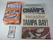 2003 Tampa Bay Buccaneers Super Bowl The Tampa Tribune 4 Newspapers Champs Lot