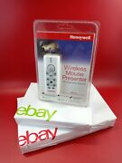 Honeywell Wireless Mouse Presenter Remote Laser Pointer W/ Receiver And Driver