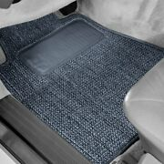 For Chevy Cruze 17-19 Sisal Auto Mat Carpeted 1st Row Blue Floor Mats