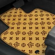 For Pontiac Gto 04 Fashion Auto Mat Carpeted 1st And 2nd Row Terracotta Floor Mats