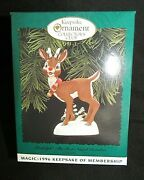 Hallmark Collectors Club And039rudolph The Red-nosed Reindeerand039 1996 New