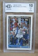Shaquille O'neal Rc 1992-1993 Topps Rookie Card362 Bccg10magic C Rc Hof Goat