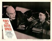 Plan 9 From Outer Space Lobby Card 8 Vf 1958 11 X 14 See Photo