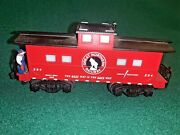 S Scale American Flyer 6-49017 Great Northern Animated Caboose