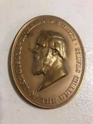 Rutherford B Hayes Indian Peace Medal Original Strike, See Description