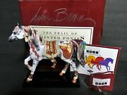 Trail Of Painted Ponies Signed X 3 Retired Copper Enchantment Pony 1e/8771