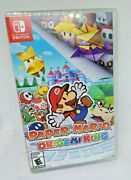 Paper Mario The Origami King For Nintendo Switch Game Used Free Shipping