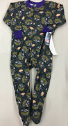 Nfl Team Apparel Baltimore Ravens Sleeper Pajamas New With Tags Toddler Infant