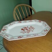 Perfect Nikko Japan Bittersweet Oval Serving Platter 13 X 9 No Chips Or Crazing