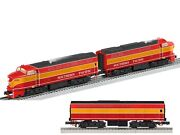 Lionel 6-38573 And 6-38577 Legacy Southern Pacific Daylight Rf-16 Aba Diesels -new