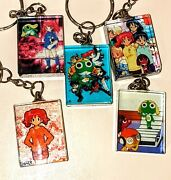 Vintage Sgt Frog Anime Keroro Gunso Keychain Collection Rare Keychains Figure