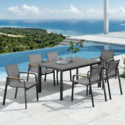 Harrier Luxury Garden Furniture   Dining Table Set Andndash Outdoor Table Patio Set