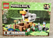 Lego 21140 The Chicken Coop Minecraft New Sealed - Fast Ship
