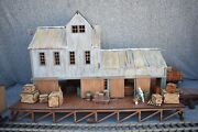 G-scale Laser Cut Warehouse Andnbsppuzzle By Docand039s Garden Trains