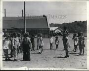 1937 Press Photo Kids Of Striking Workers At Parker Dam Site