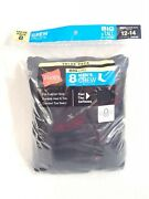 Hanes 8-pack Men's Big And Tall Crew Socks - Shoe Size 12-14, Black 0119