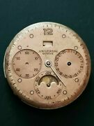 Universal Geneve Cal 291 Calendar Moon Phase Dial And Movement