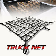 Fit Gmc Cargo Net Rear Trunk Storage Carrier Crew Cab 8.5' Bed Box Pickup
