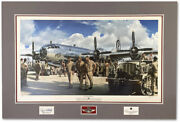 The Peacemakers By John Shaw - B-29 Enola Gay - With Crew Signatures