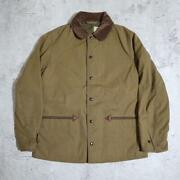 Warehouse Heller's Cafe 1930's Duck Print Field Jacket Size 38 Used From Japan