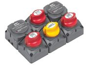 Bep Marinco 717-140advsr Battery Distributi Cluster Twin Outboard 3 Battery Bank