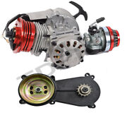 Big Bore Racing 50cc 49cc Engine Motor + Gearbox For 2 Stroke Go Kart Bicycle
