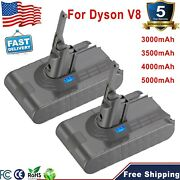 V8 5.0ah For Dyson 21.6v Battery Animal Absolute Fluffy Handheld Vacuum Cleaners