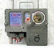 Vintage Electricity Games Meter Prepayment Coin Operated Industrial Electric