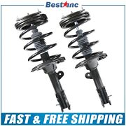 Front Pair Left And Right 2 Complete Strut For 2007 2008 2009 Hyundai Santa Fe