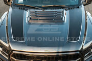 Eos For 17-up Ford Raptor   Factory Style Carbon Fiber Hood Vent Insert Cover