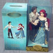 Ariel And Eric Fairytale Doll Edition Limited Disney The Small Mermaid 6000 Ex