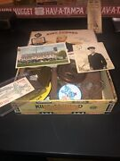 Vintage Junk Drawer Lot 1930andrsquos King Edward Box Ww2 Navy Picture