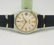 Vintage 1965 Omega Seamaster Cream Dial Cal565 Automatic Manand039s Watch