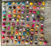 Shopkins Lot 300+ Huge Fashion Boutique Shopping Cart And Pink Collectors Case