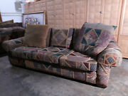 Michael Thomas Furniture Patchwork Couch Traditional Custom Design