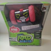 Really Rad Robots Remote Control Robot W/ Voice Command Turbo Bot - Fast Ship