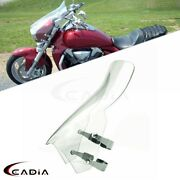 For Suzuki Boulevard M109r 06-14 M90 M50 4.5mm Thick Clear Windshield Motorcycle