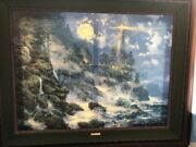 James Coleman Hand Embellished Giclee On Canvas Signed.andnbsp