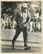 1973 Press Photo Golfer Miller Barber At Greater New Orleans Open Sixteenth Hole