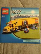 Lego City Big Truck 3221 Instructions Only