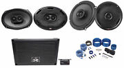 Mtx Xthunder800.5 800w Rms 5-channel Amplifier+6x9+6.5 Mtx Thunder Speakers