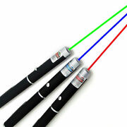 Laser Pointer Pen Red Green Blue/violet Light Visible Beam Powerful 5mw